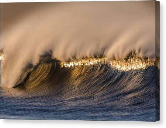 Long Windy Crest  73a0468 Canvas Print