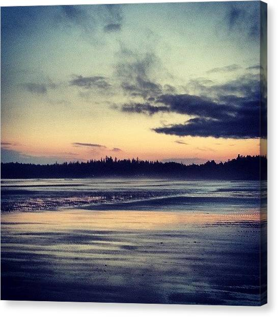 Vancouver Island Canvas Print - Longbeach by Kimma Moonshine
