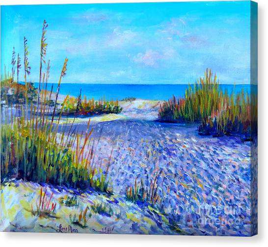 Longboat Key View Canvas Print