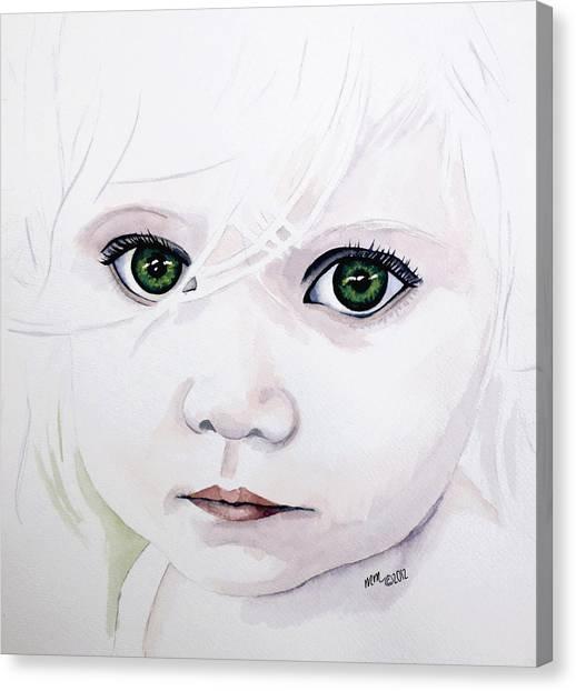 Longing Eyes Canvas Print