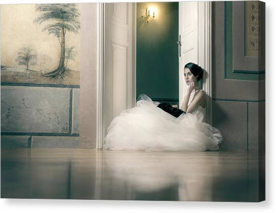 Fashion Canvas Print - Longing by Piotr Werner