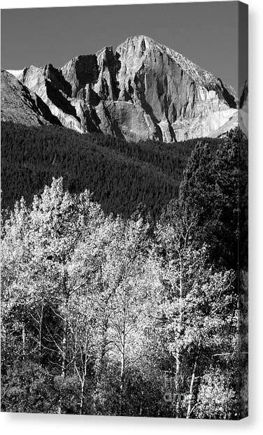 Longs Peak 14256 Ft Canvas Print