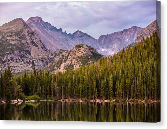 Purple Mountains' Majesty Canvas Print