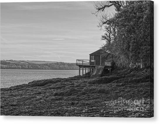 Lonley Boat House Canvas Print
