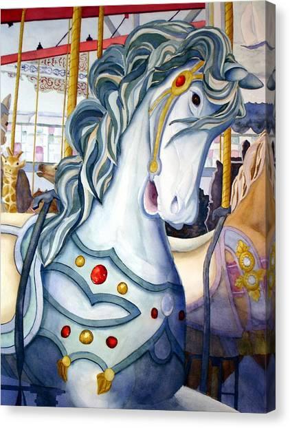 Looff Carousel Canvas Print