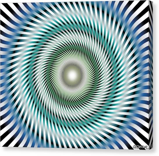 Look In My Eyes Canvas Print