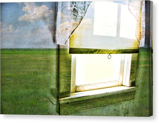 Drywall Canvas Print - Look Inside by Starlux  Productions