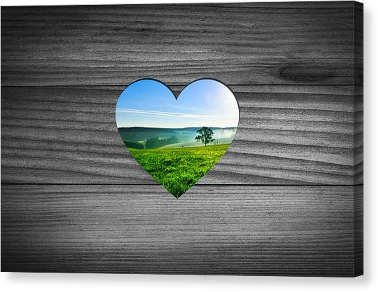 St. Patricks Day Canvas Print - Look Into Nature by Aged Pixel