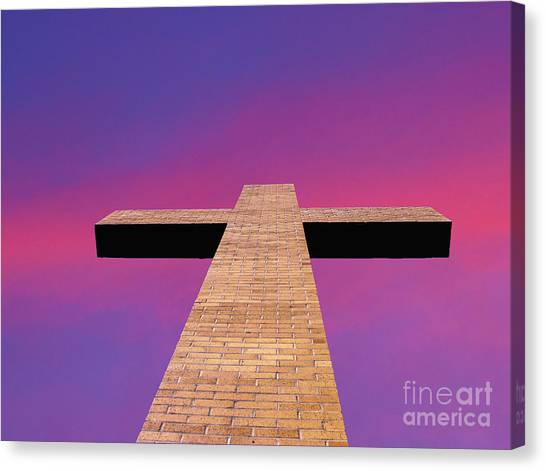 Look To The Heaven's Canvas Print
