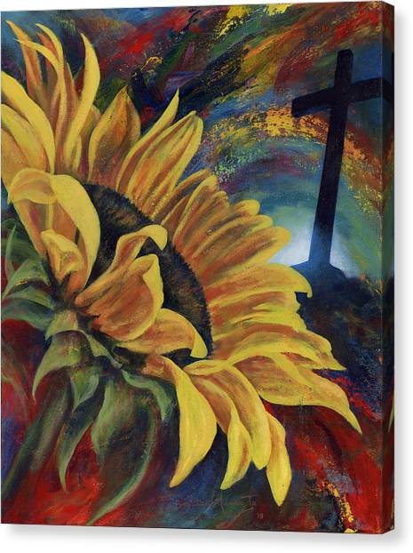 Look To The Son Canvas Print by Don Michael Jr