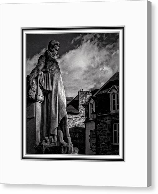 Looking At The Houses Canvas Print