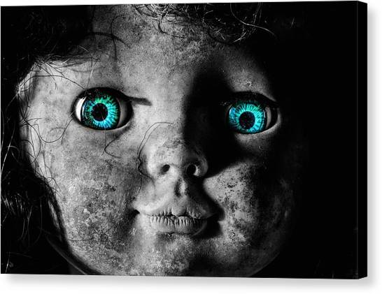 Looking At You Kid Canvas Print by JC Findley