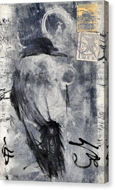 Blackbirds Canvas Print - Looking Eastward by Carol Leigh