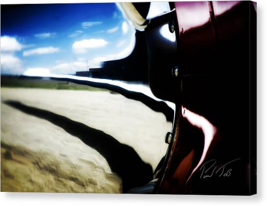 Canvas Print featuring the photograph Looking Forward by Paul Job