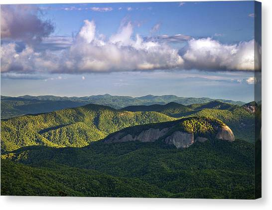Pisgah National Forest Canvas Print - Looking Glass Rock by Andrew Soundarajan