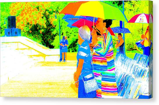 Looking Beyond Canvas Print by Philip Zion