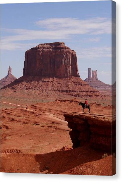 Looking Out At John Ford Point Canvas Print