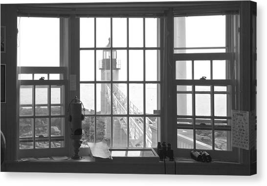 Keeper Canvas Print - Looking Out by Mike McGlothlen