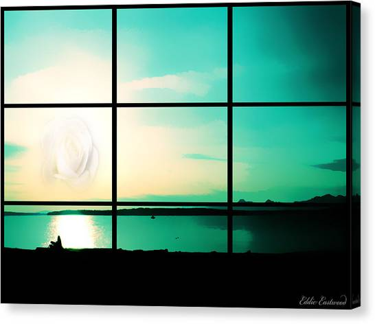 Looking Out My Window Canvas Print