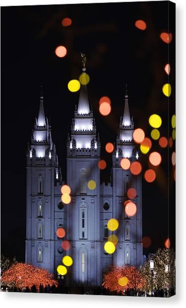 Mormon Canvas Print - Looking Through Light by Chad Dutson