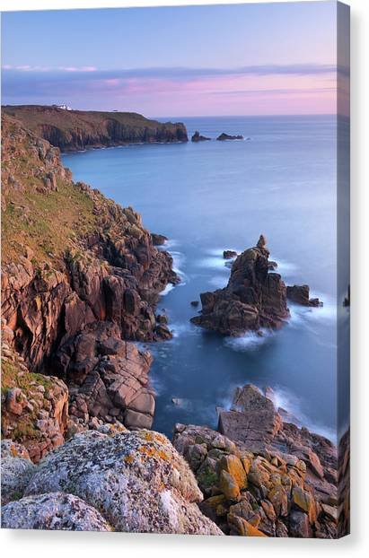 Cliff Burton Canvas Print - Looking Towards Lands End From The by Adam Burton / Robertharding