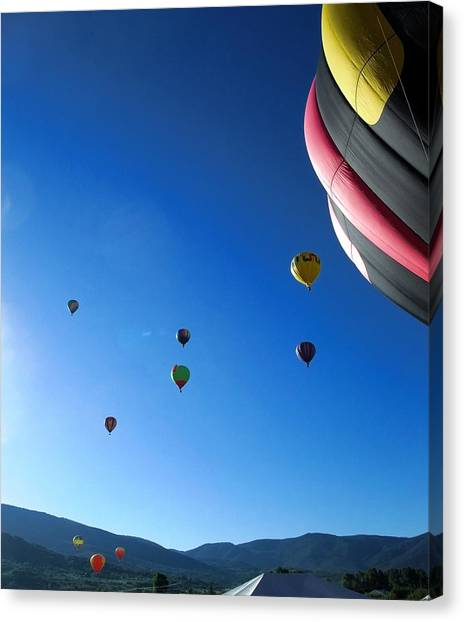 Looking Up Canvas Print by Stephen Schaps