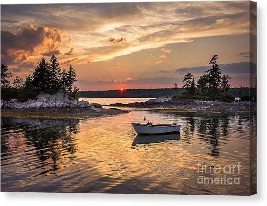 Lookout Point Canvas Print