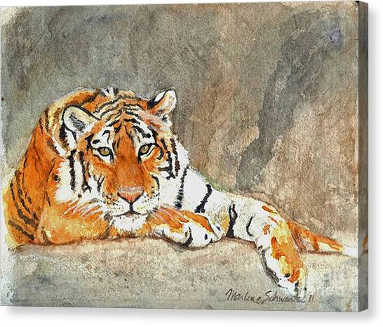 Lord Of The Jungle Canvas Print