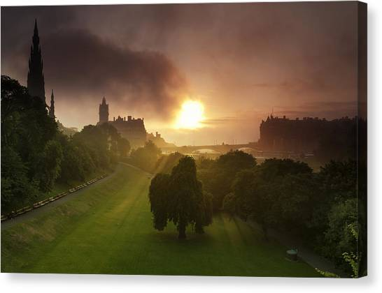 Lord Sun Canvas Print