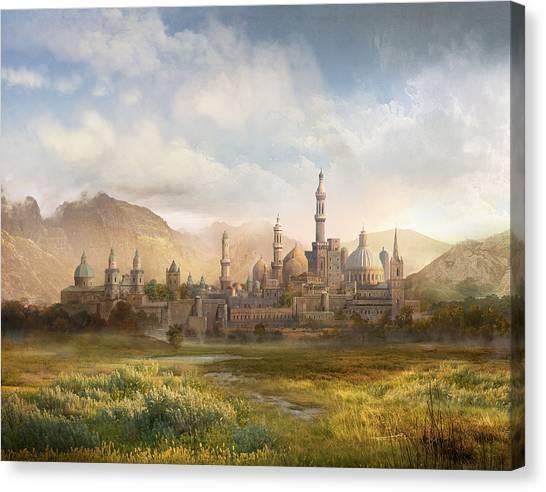 World Of Warcraft Canvas Print - Lordaeron by Philip Straub