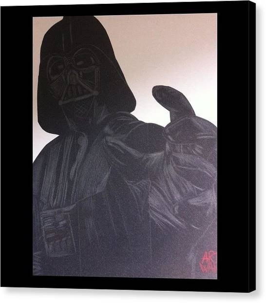 Jedi Canvas Print - #lordvader #griptape #lija #jedi by Art War