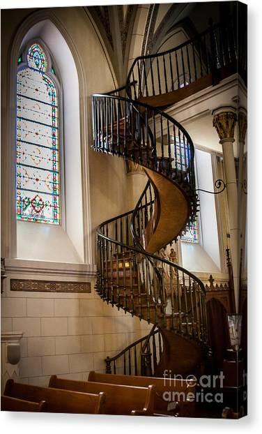 Loretto Chapel Staircase Canvas Print