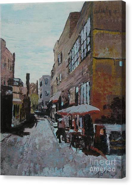 Loring Corners Canvas Print