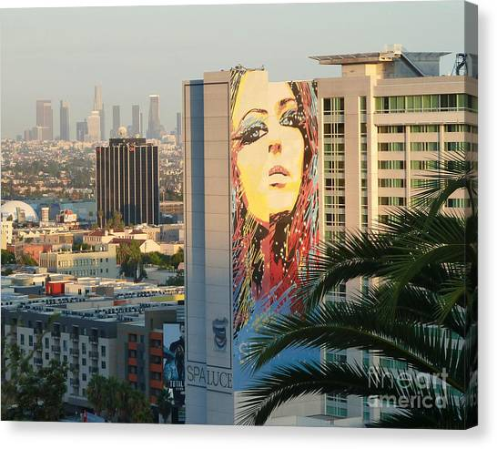 Los Angeles Golden Hour Canvas Print