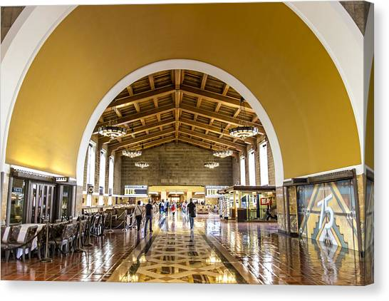 Los Angeles Union Station Canvas Print
