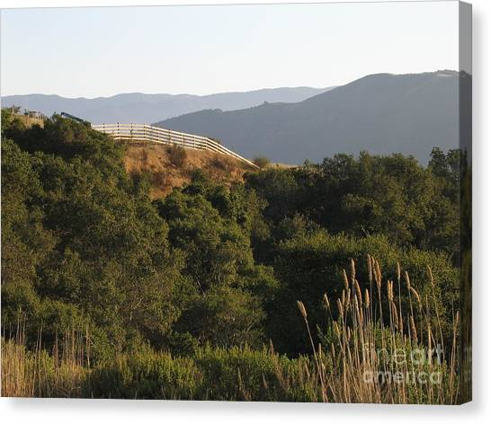 Los Laureles Ridgeline Canvas Print