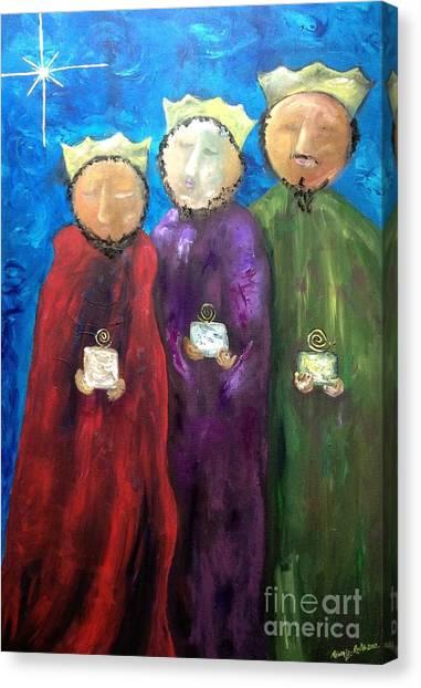 Los Reyes Magos Canvas Print