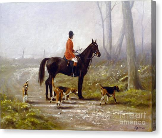 Canvas Print - Losing The Scent by John Silver
