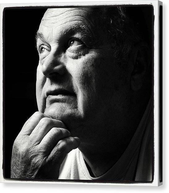 Grandpa Canvas Print - Lost A Great Man Yesterday. This Is My by Doug Michaels