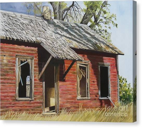 Lost America Canvas Print