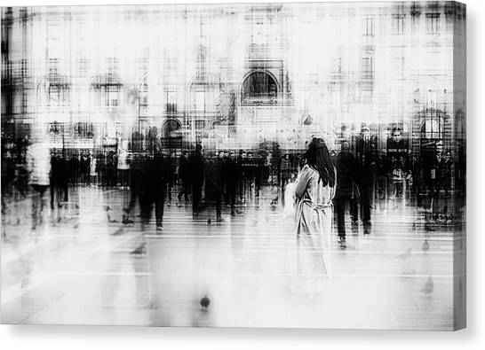 Lost Among Ghosts Canvas Print by Inna Blar