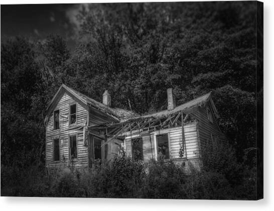 Home Runs Canvas Print - Lost And Alone by Scott Norris