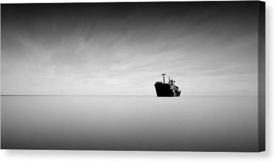 Lost At Sea Canvas Print by Mihai Florea