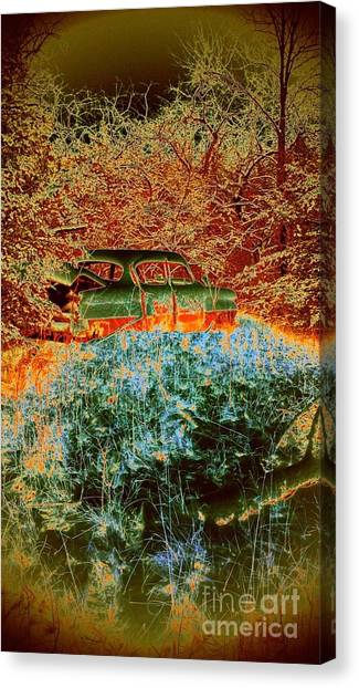 Lost Car Canvas Print