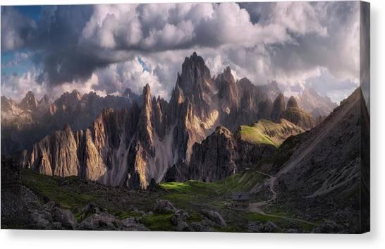 Dolomites Canvas Print - Lost by Carlos F. Turienzo