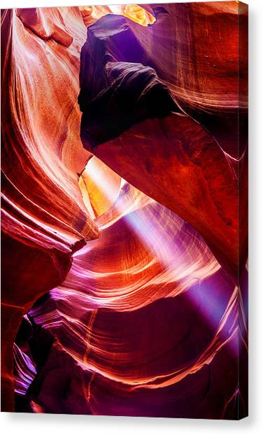 Red Rock Canvas Print - Lost  by Az Jackson