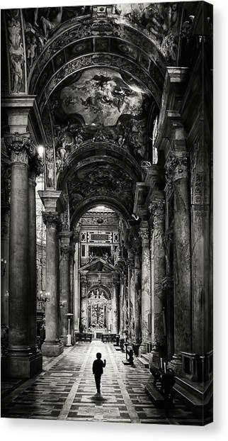 Palace Canvas Print - Lost In Beauty by Roberto Mugnaioli