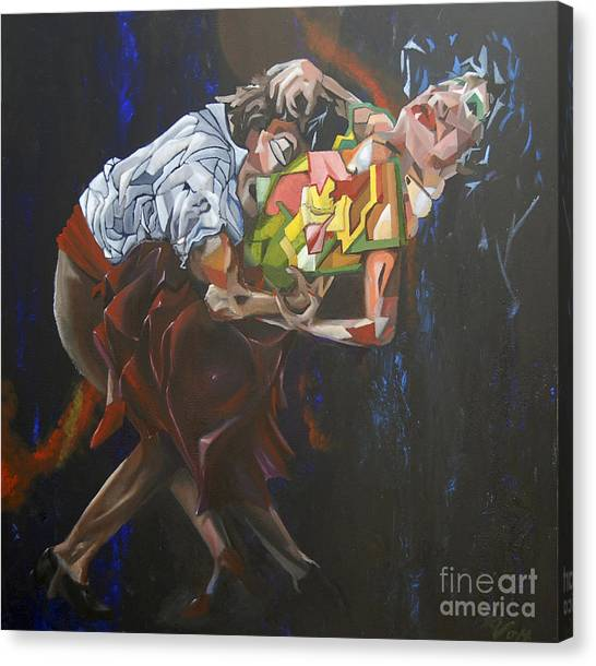 Lost In Dance Canvas Print