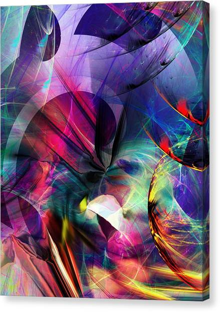 Canvas Print - Lost In Hyperspace by David Lane