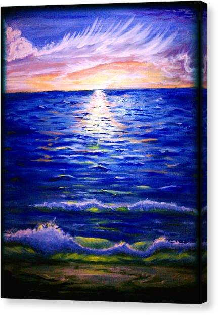Lost In Paradise Canvas Print by Joe Fussner